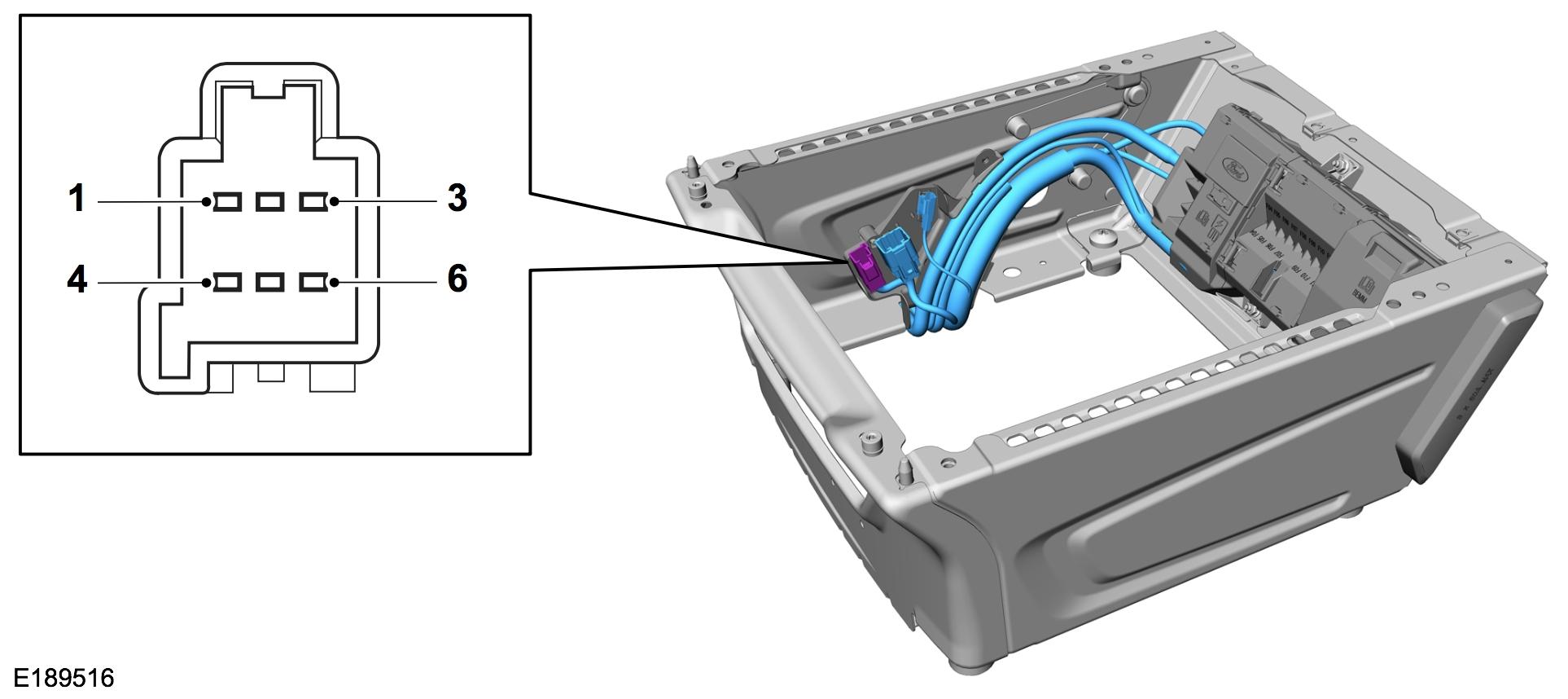 engine on signal via ford transit vehicle interface